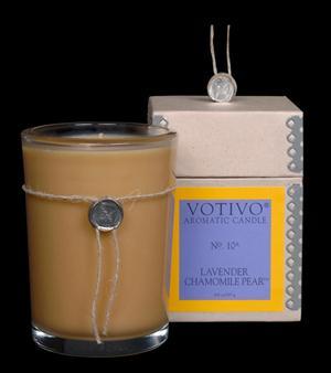 Lavender Chamomile Pear Candle - Votivo