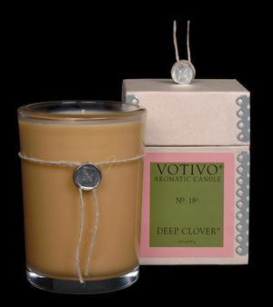 Deep Clover Candle - Votivo