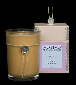 Morning Violet Candle - Votivo