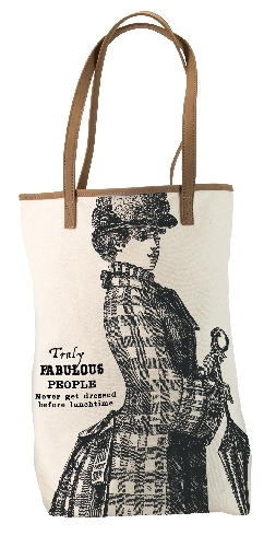 Tote Bag - Truly Fabulous People Never Get Dressed Before Lunchtime