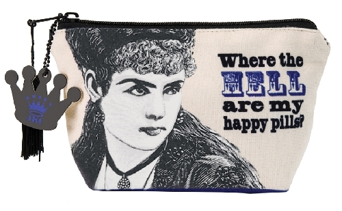 Make-Up Pouch - Where the Hell Are My Happy Pills?
