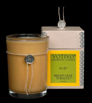 Bright Leaf Tobacco Candle - Votivo