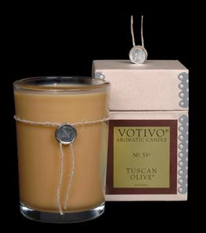Tuscan Olive Candle - Votivo