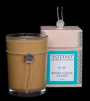 White Ocean Sands Candle - Votivo