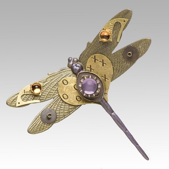 Dragonfly Pin by Mullanium