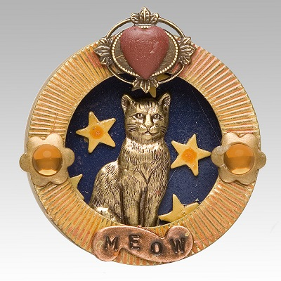 Cat Pin by Mullanium