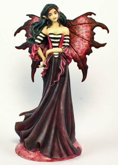 Goth Magenta Amy Brown Figurine
