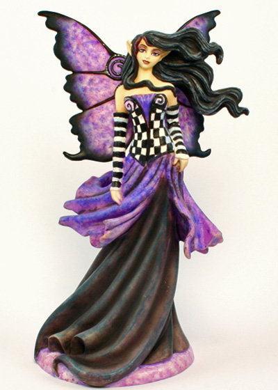 Goth Purple Amy Brown Figurine