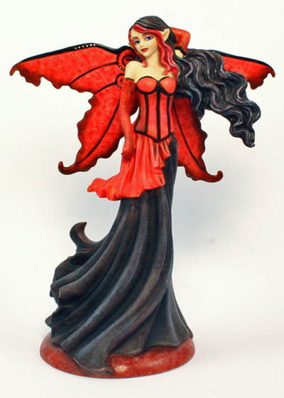 Goth Red Amy Brown Figurine