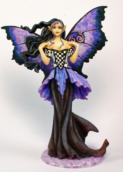 Goth Blue Amy Brown Figurine