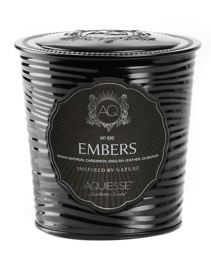 Embers Candle in Decorative Tin - Aquiesse