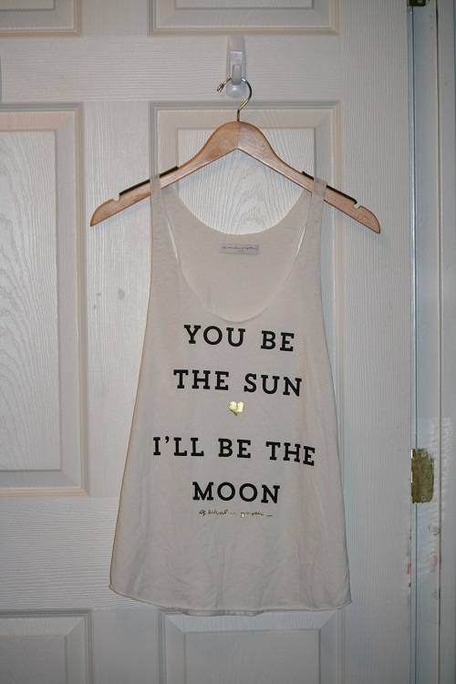 Spiritual Gangster You Be the Sun Classic Racerback Burnout Tank Stardust