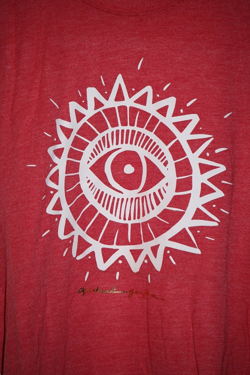 Spiritual Gangster Golden Eye Sun Burnout Coachella Tank Sayulita Red