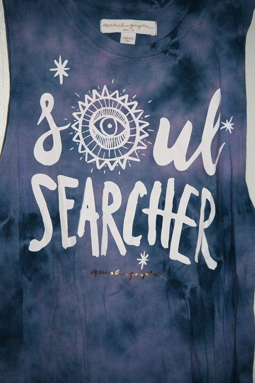 Spiritual Gangster Soul Searcher Tribal Muscle Tank Nova Wash