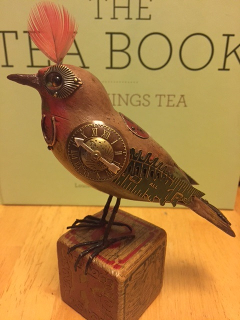 Bird On Block by Mullanium