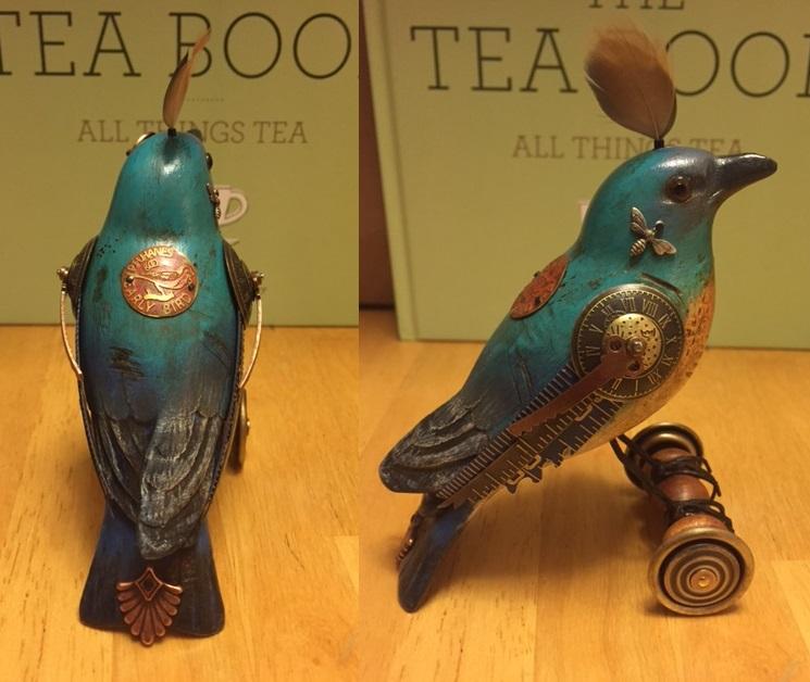 Blue Bird on Wheels by Mullanium