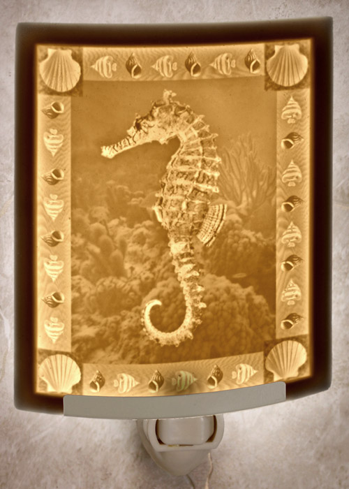 Seahorse Nightlight