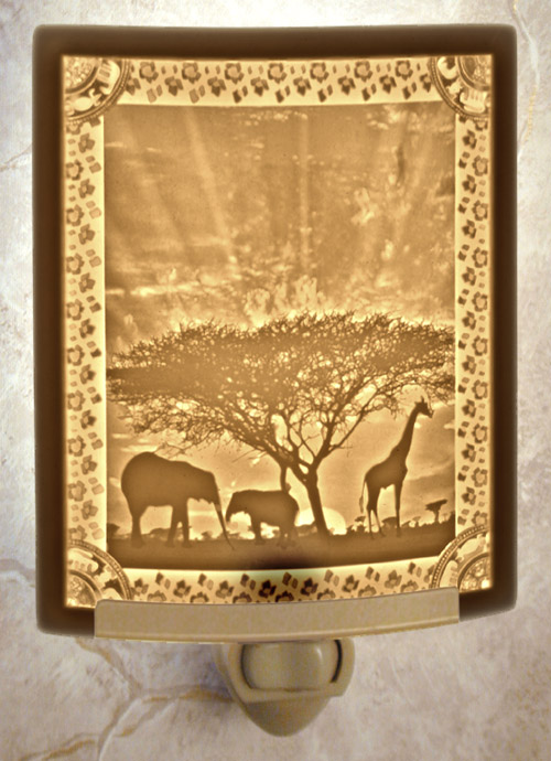 African Sunset Nightlight