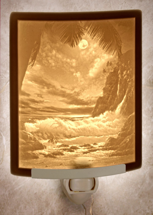 Tropical Moonlight Nightlight