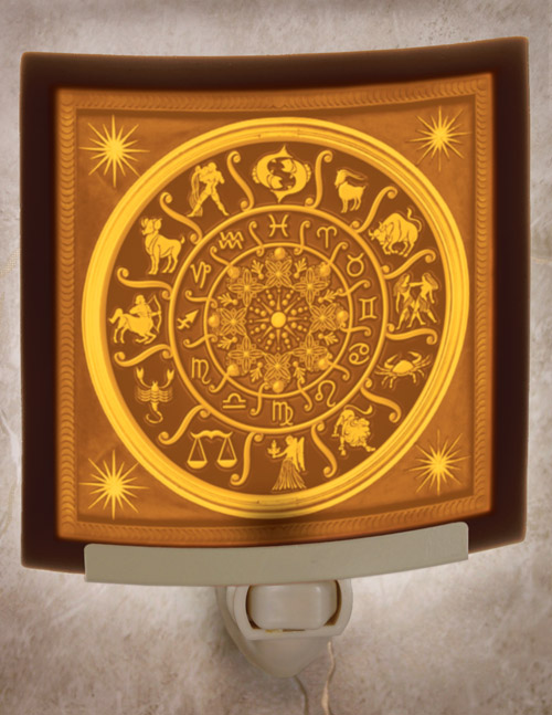 Zodiac Wheel Nightlight