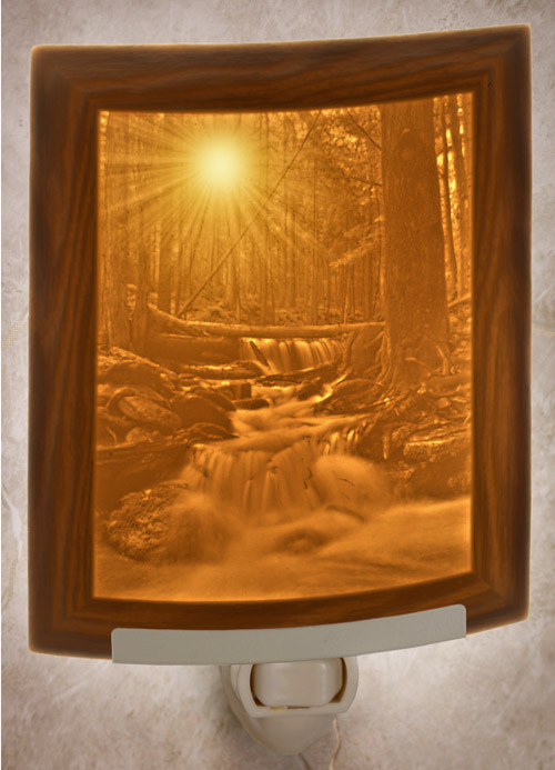 Mystical Falls Nightlight
