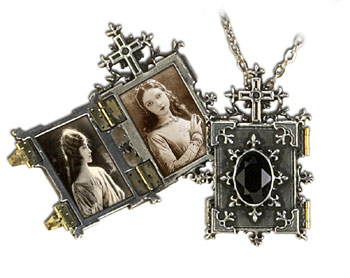Orthodox Icon Locket Necklace