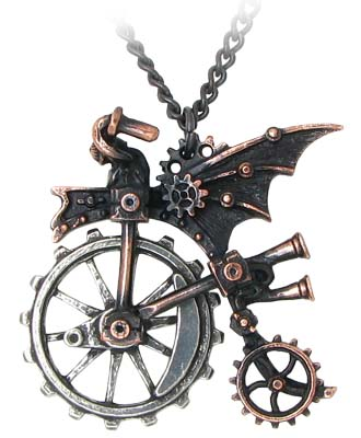 Ventus Traction Farthing Necklace