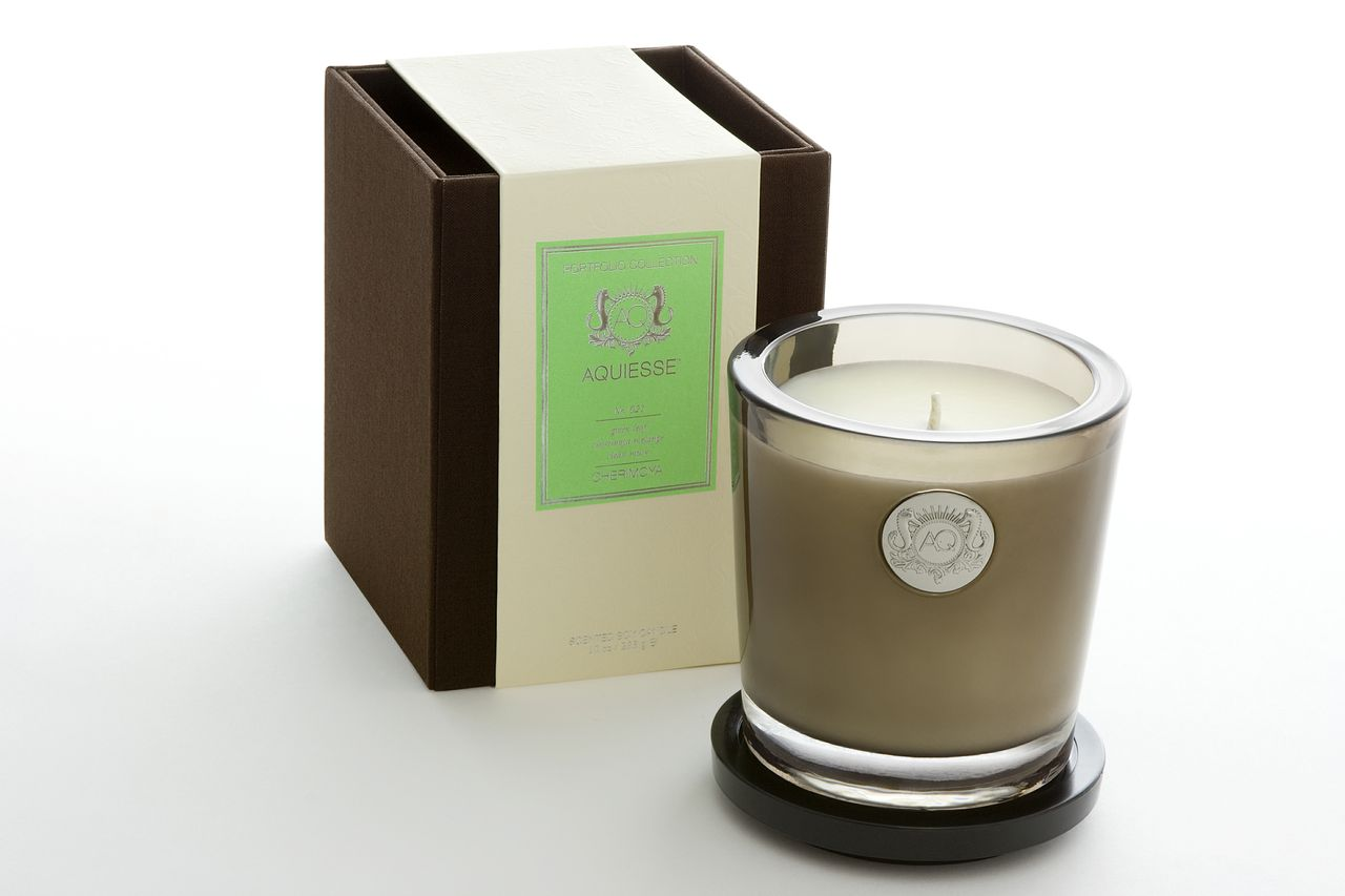 Cherimoya Candle in Glass - Aquiesse